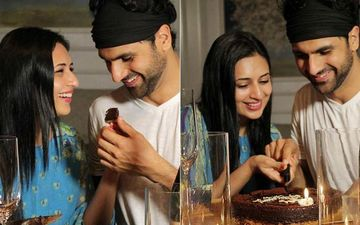 Vivek Dahiya Surprises Divyanka Tripathi With Cake And Champagne On Their Wedding Anniversary; Lady Shares Pictures From Their Romantic Date