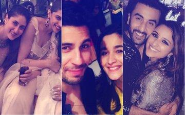 INSIDE PICS: Deepika Padukone, Kareena Kapoor, Alia Bhatt, Ranbir Kapoor GO CRAZY On Diwali