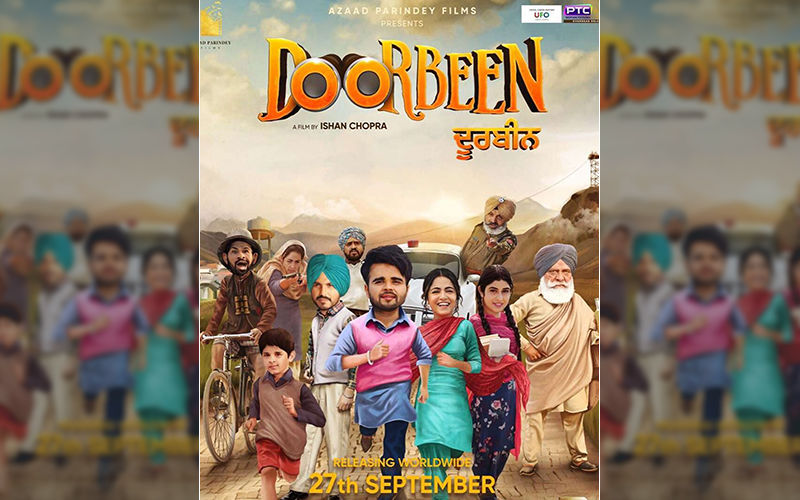'Doorbeen': Jass Bajwa Says The Trailer Will Be Out Soon; Shares A New Poster