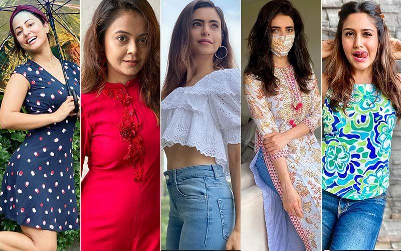 BEST DRESSED & WORST DRESSED Of The Week: Hina Khan, Devoleena Bhattacharjee, Aamna Sharif, Karishma Tanna Or Surbhi Chandna?