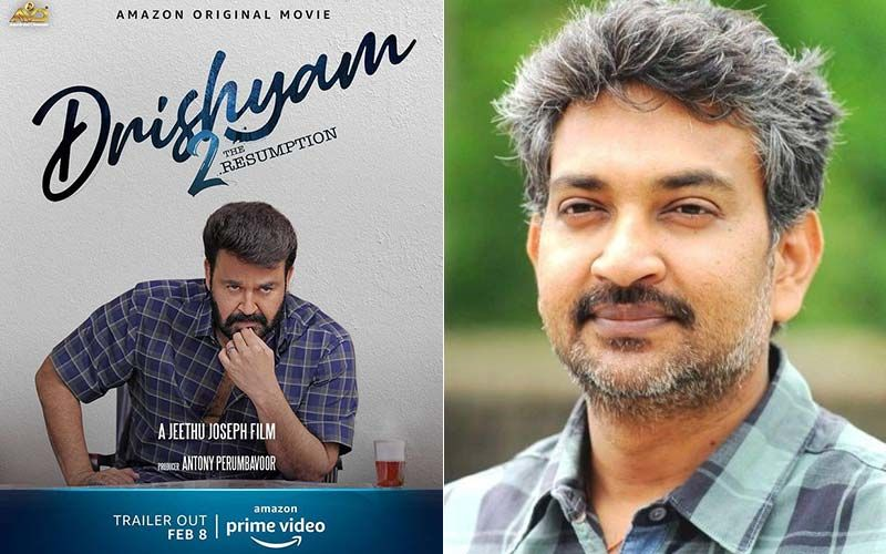 SS Rajamouli Is Mind Blown By Mohanlal's Drishyam 2: Pens A Note Praising Director Jeethu Joseph