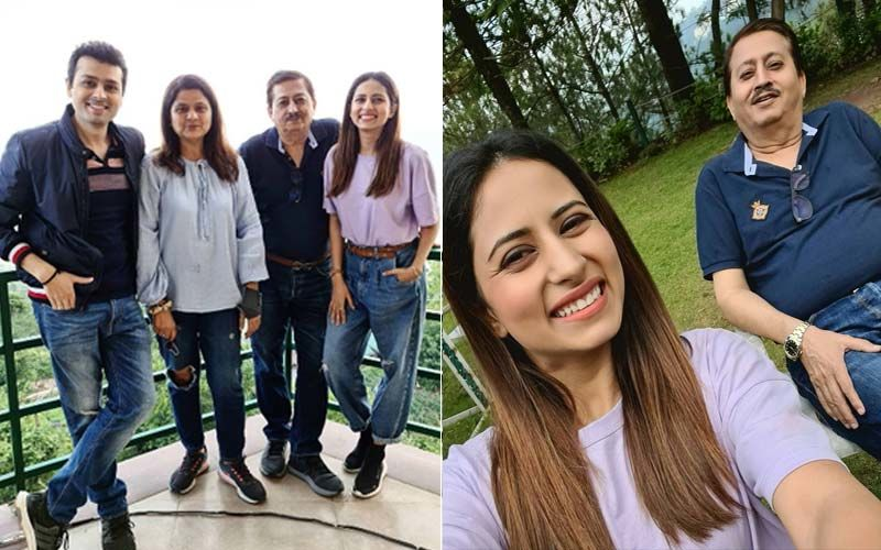 "Sargun Mehta Wishes Her Father On His Birthday With A Cheerful Selfie; Says ""Papa Ki Pari Hun Main"""