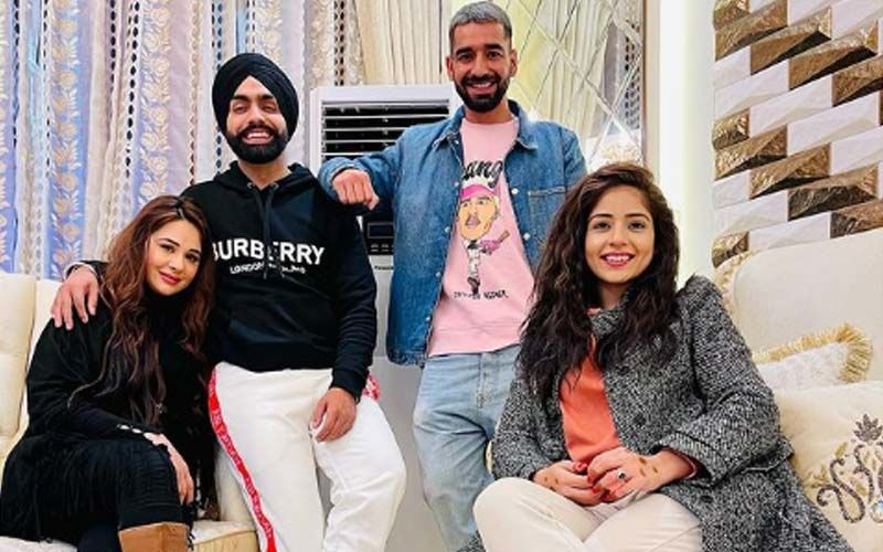 Ammy Virk, Maninder Buttar And Tania Show Us What True Friendship Looks Like; See The Picture