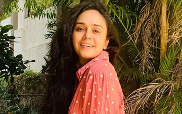 Amruta Khanvilkar Shines Like Summer In A Yellow Dress