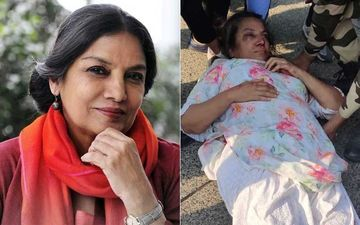 Shabana Azmi Injured In A Car Accident On Mumbai-Pune Express Highway