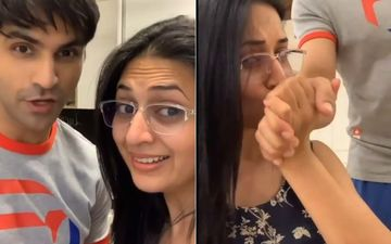 Divyanka Tripathi Kisses Hubby Vivek Dahiya's Hand After He Cooks Mouth-Watering Pasta For Her; Mister Can't Stop Blushing- WATCH