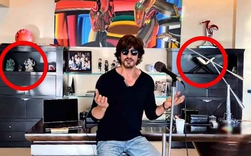 I For India: Shah Rukh Khan's Fans Notice Ganesh Idol And Quran At His Home: 'Ye SRK Ka Mannat Hai Sahab, Yaha Har Dharm Milega'