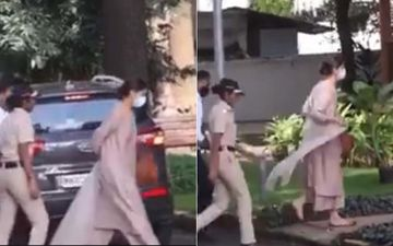 Sushant Singh Rajput Death Case: As Deepika Padukone Arrives At NCB For Interrogation About Her 2017 Drug Chats #StandWithDeepika Takes Over Social Media