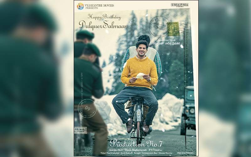 Happy Birthday Dulquer Salmaan: Makers Of Lieutenant Ram Share A Captivating Poster of the Actor As a Token Of Love