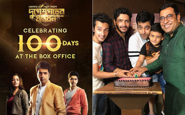 Durgeshgorer Guptodhon Completes 100 Days In Theatres, Abir Chatterjee Shares Celebration Pictures