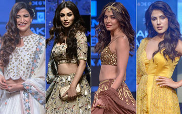 Lakme Fashion Week 2019, Day 3: Mouni Roy, Aahana Kumra, Kriti Kharbanda, Rhea Chakraborty Make A Fashion Splash