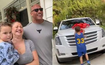 WWE Star Dwayne The Rock Johnson Surprises Sis-In-Law With Brand New Swanky Car On Christmas – Watch Video