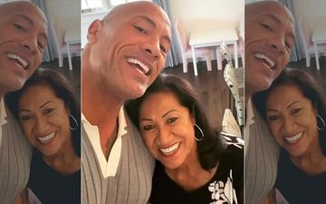 Dwayne The Rock Johnson Sings The Birthday Song For His Mom; Jokingly Tells Her To 'Be Cool' At The 'Magic Mike' Show In Vegas-VIDEO