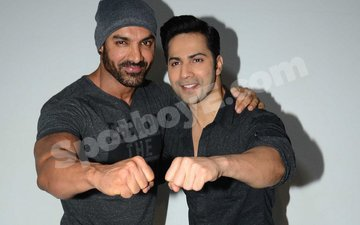 There's something Varun Dhawan doesn't like about John Abraham