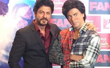 In Pics: Shah Rukh's Madame Tussauds wax statue dressed in Fan look