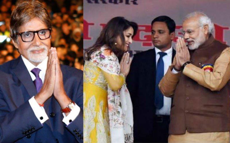 Amitabh, Madhuri And Varun Wish PM Narendra Modi On His Birthday