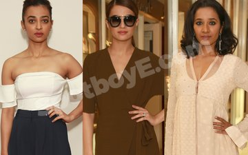 Radhika, Surveen and Tannishtha Up The Glam Quotient