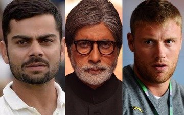Amitabh Bachchan fights with Andrew Flintoff for Virat Kohli