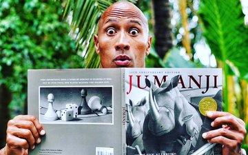 The Rock's Jumanji is a sequel, not a remake