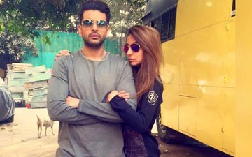 Karan Kundra gets Wild & Naughty with girlfriend Anusha Dandekar