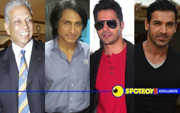 Mohinder Amarnath & Rameez Raja join Varun Dhawan & John Abraham in Dishoom