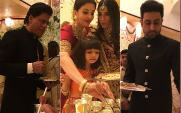 Not Just Amitabh Bachchan And Aamir Khan--- Even Shah Rukh Khan, Aishwarya Rai And Abhishek Bachchan Served Food To Guests At Isha Ambani's Wedding