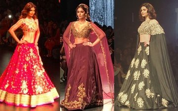 IN PICS: Shilpa Shetty, Ileana D' Cruz And Prachi Desai Scorch The Ramp In Their Desi Avtaar!