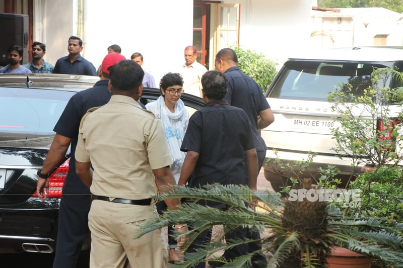 Kiran Rao At Krishna Raj Kapoors Residence