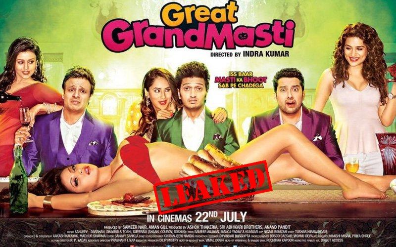 Video: Great Grand Masti leaked online