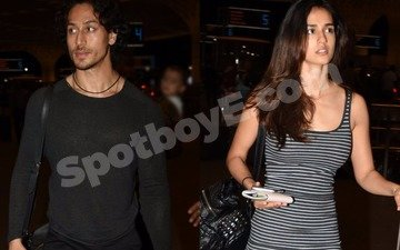 Airport Drama: Tiger Shroff avoids getting clicked with Disha Patani