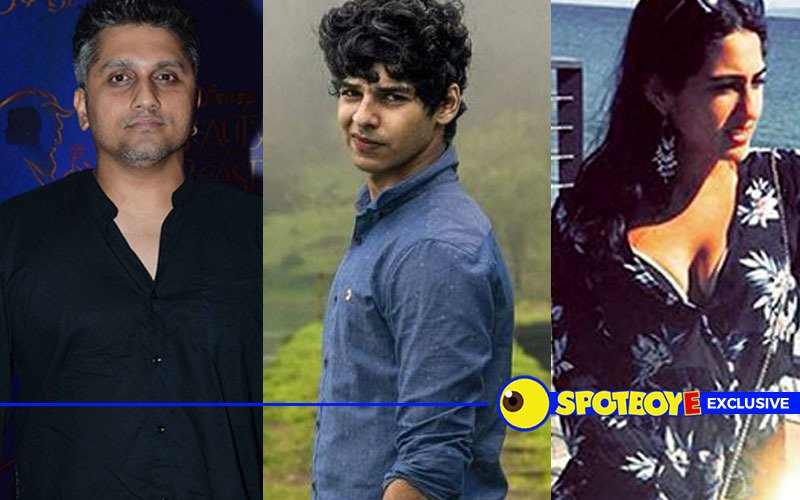 Mohit Suri to launch Shahid's half-brother Ishaan and Saif's daughter Sara