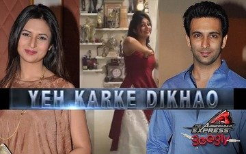 Divyanka accepts Nandish's Garba challenge