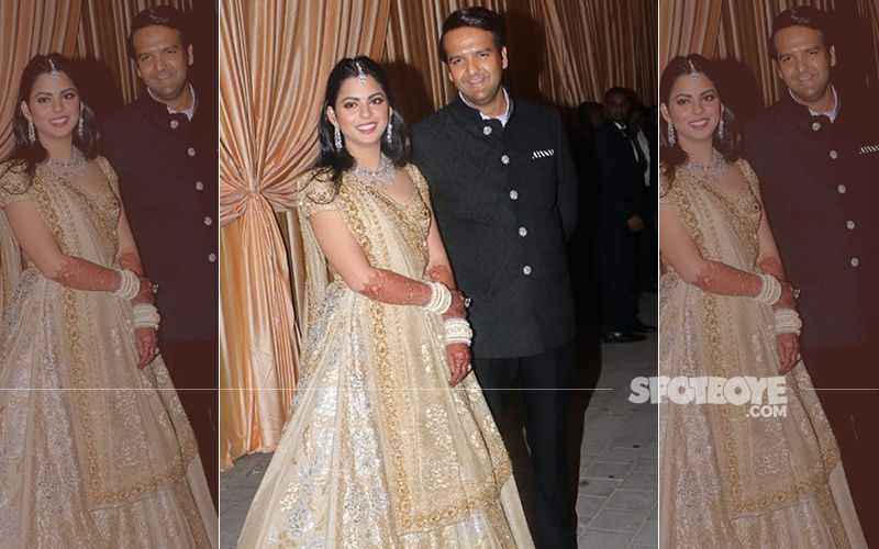 Isha Ambani-Anand Piramal Wedding Reception: Here's The First Picture Of The Newlyweds
