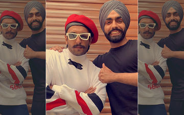 Ammy Virk Introduces Film '83' Actor Ranveer 'Captain' Singh in Most Flattering Manner
