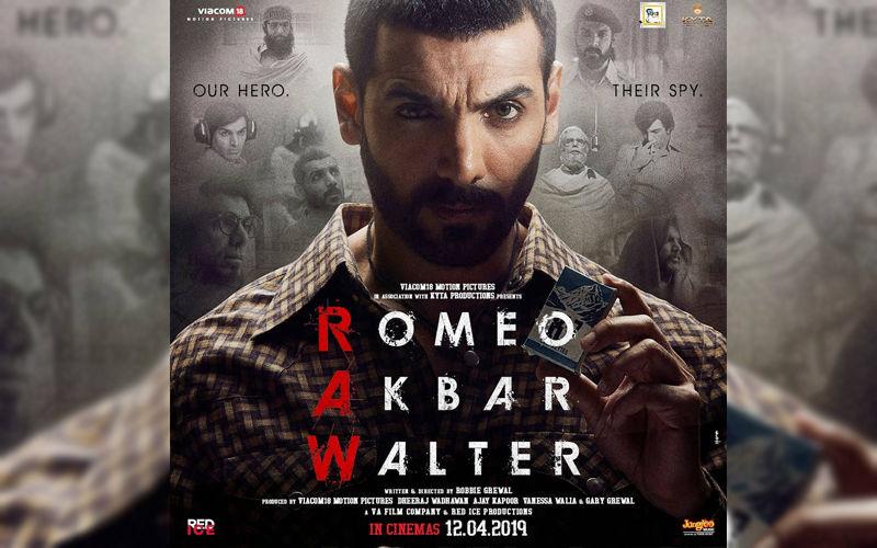 Romeo Akbar Walter New Poster: John Abraham As Akbar Is Fierce And How