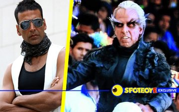 Akshay takes 6 hours to get into his Robot look