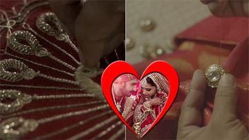 Watch How Deepika Padukone And Ranveer Singh's Sindhi Wedding Outfits Were Made