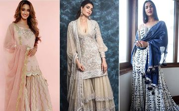 EID Mubarak 2019: It's 'Sharara, Sharara' For Disha Patani, Karishma Tanna And Sonal Chauhan