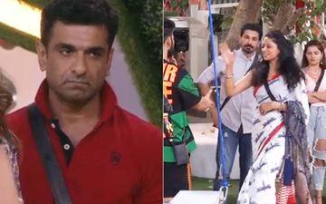 Bigg Boss 14: Eijaz Khan Goes To Hug Kavita Kaushik Post Her Eviction, Latter Ignores Him And Walks Out The Door