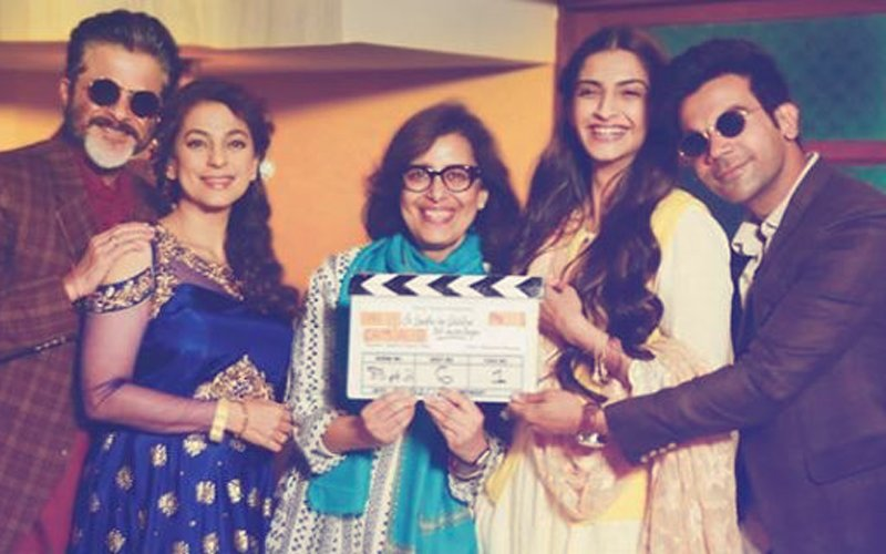 FIRST PHOTO From The Sets Of Ek Ladki Ko Dekha Toh Aisa Laga: Anil, Juhi, Sonam & Rajkummar Kick-Start Shoot