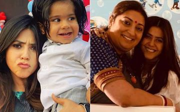 Ekta Kapoor Reveals Son Ravie's Face, Maasi Smriti Irani Is Going Nuts; Terms Herself As The Coolest Politician