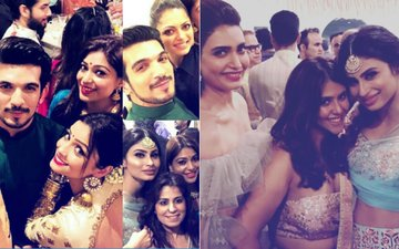 Inside Pictures: Mouni Roy, Adaa Khan, Divyanka Tripathi, Karan Patel, Mona Singh & Arjun Bijlani Attend Ekta Kapoor's Diwali Bash