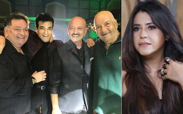 Rishi Kapoor Passes Away: Rishi, Jeetendra, Rakesh Roshan Hug And Sing Like A Bunch Of Excited Boys; Ekta Kapoor Says They Will 'Never Party Again'