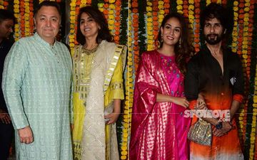 Ekta Kapoor's Diwali Party 2019: Shahid Kapoor, Mira Rajput, Rishi  And Neetu Kapoor Add Glamour