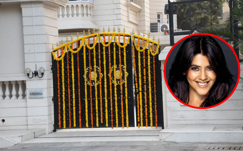 Ekta Kapoor's Son's Naamkaran: Krishna Bungalow Exquisitely Decorated