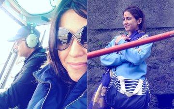 See Pics: Ekta Kapoor Pays A Visit To Sara Ali Khan's Kedarnath