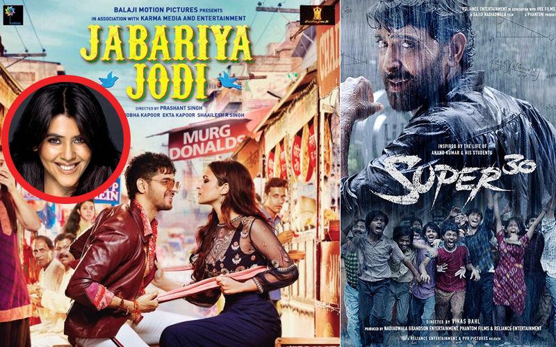 Ekta Kapoor Shifts Release Date Of Jabariya Jodi To Avoid Clash With Hrithik Roshan's Super 30