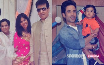 Ekta-Jeetendra-Shobha Did Not Know That Tusshar Kapoor Had Decided To Have A Child Via Surrogacy!