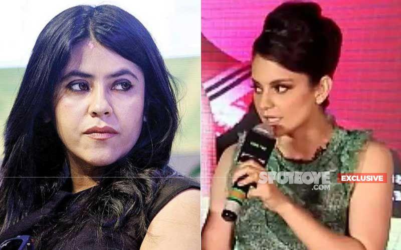 Journalists Meet Ekta Kapoor To Complain About Kangana Ranaut