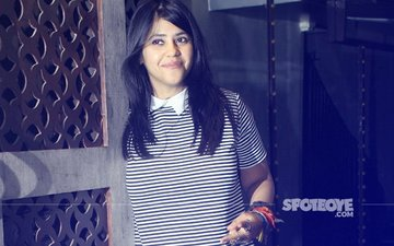 Ekta Kapoor Celebrates Her 42ND Birthday With Family & Close Friends